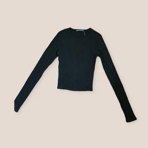 Long Sleeve Belly Top